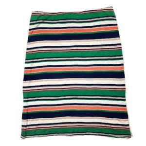 Joie Multi-Colored Striped Stretchy Mini Skirt